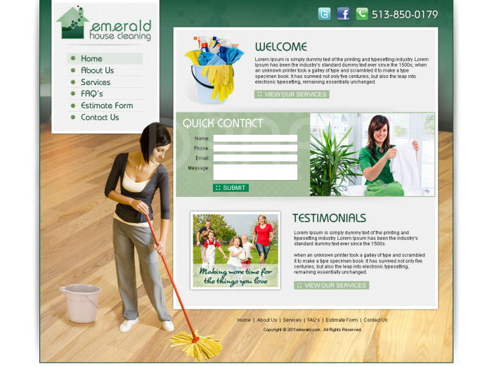 www.EmeraldHouseCleaning.com